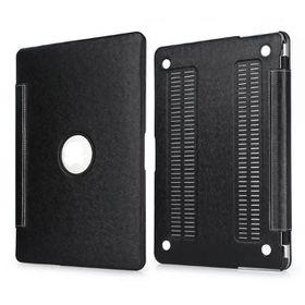 "Tuff-Luv Slim Skin Case for Apple Macbook 11.6"" - Black"