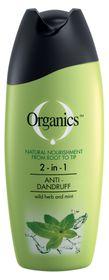 Organics Anti Dandruff 2-In-1 Shampoo - 200ml