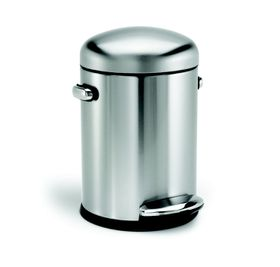 Simple Human - 4.5 Litre Retro - Deluxe Brushed Steel