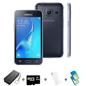 Samsung GALAXY J1 Mini DS 2016 8GB LTE Black - Bundle with R300 Airtime + 1.2GB Starter Pack + Accessories