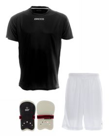 Mens Dacco Soccer Shirt, Shorts and SNT Senior Shinguard