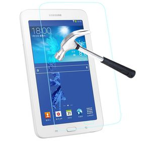 "Tuff-Luv Tempered Glass Screen Protector For Samsung Tab 3 7"" Lite - Clear"