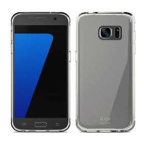 iLUV Vyneer Transparent Case Galaxy S7 - Clear