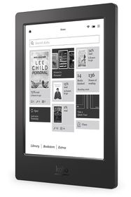 "Kobo Aura 6.8"" Waterproof - Black"