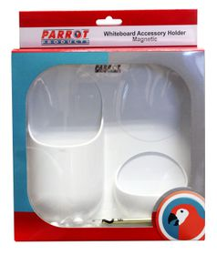 Parrot Magnetic Whiteboard Accessory Holder