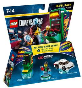 Lego Dimensions 1: Level: Midway Arcade