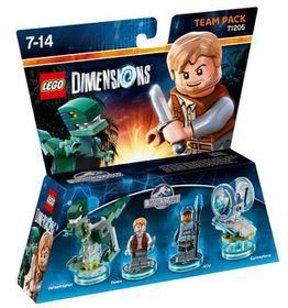 Lego Dimensions 1: Team: Jurassic World: Owen & Tee