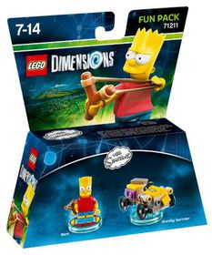 Lego Dimensions 1: Fun: Simpsons - Bart