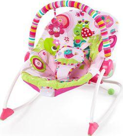 Bright Starts - Infant To Toddler Rocker - Raspberry Garden