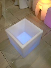 Dasimo - LED Square Flower Pot - 40cm x 40cm x 54cm