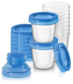 Avent - Breastmilk Storage Cups