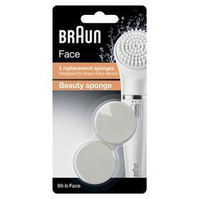 Braun Face 80 Refill Beauty Sponge 2s