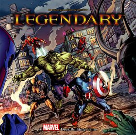 Legendary Marvel A Deck Building Game