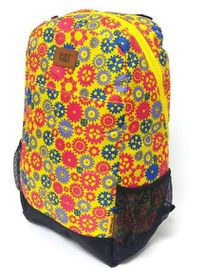CAT Benji Backpack - Wheels & Blue Yellow Purple
