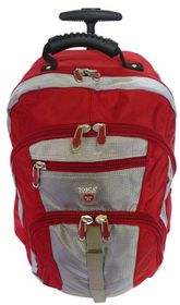 Tosca Trolley Laptop BackPack 17 Inch - Red
