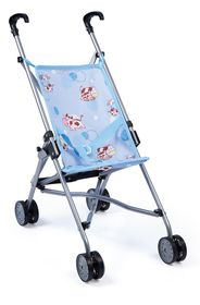 Bayer Buggy Doll's Pram - Blue