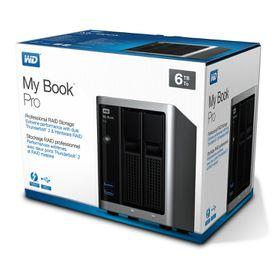Western Digital My Book Pro Professional Desktop RAID Storage 6TB