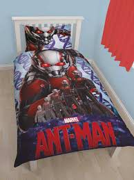 Disney Marvel Antman Atom Single Panel Duvet Set