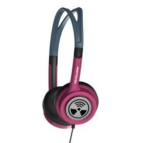 Zagg iFrogz Toxix Headphones - Hot Pink
