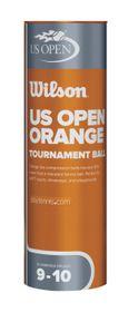 Wilson Us Open Orange Tournament - 3 Ball Tin