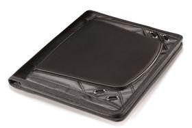 Creative Travel Elleven A4 Zip Aorund Tech Folder - Black