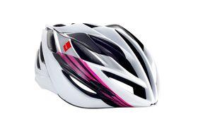 MET Forte Helmet - Black / White / Pink