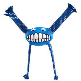 Rogz - 29cm Flossy Grinz Oral Care Dog Toy - Blue