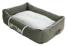 Rogz - Medium Lounge Pod Large Dog Bed - Olive
