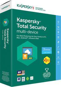 Kaspersky Total Security 2017 Box Pack - 4 User