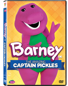Barney: The Amazing Captain Pickles + A Game For Everyone (DVD)