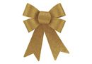 Creative Stationery Glitter Bow - Gold