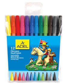 Adel 12 Fibre Tip Pens