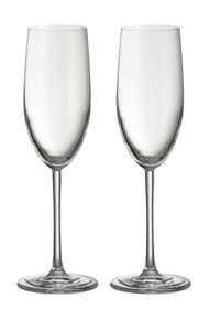 Jamie Oliver - Waves 250ml Champagne Glasses - Set Of 2
