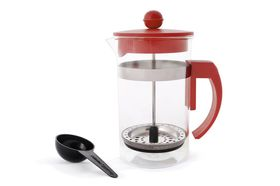 Eetrite - 600ml Coffee Plunger - Red