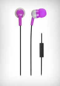 Wicked Audio Bandit With Mic - Purple / Grey