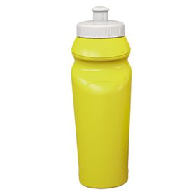 Eco - 500ml Curved Design Water Bottle - Yellow