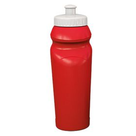 Eco - 500ml Curved Design Water Bottle - Red