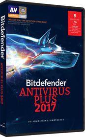 Bitdefender 2017 Anti-Virus 2 user (DVD Case)
