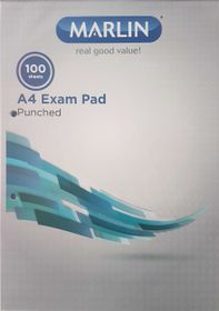 Marlin F&M 100 Sheet Punched & Ruled Examination Pad