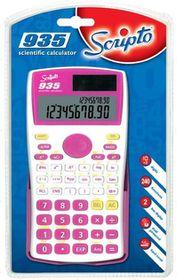 Scripto 935 Scientific Calculator - Pink/White