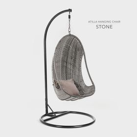Cielo - Atilla Hanging Chair - Stone