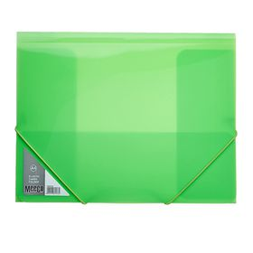 Meeco A4 Carry Folder with Elastic Closure - Green