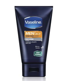 Vaseline For Men Deep Cleanse Scrub Face Wash - 100ml