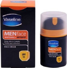 Vaseline For Men Spf15 Face Moisturiser - 20ml