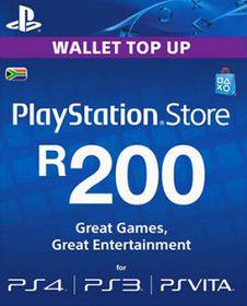 PlayStation Network Card R200 (PS3/PSP/PS Vita/PS4)
