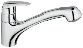 Grohe - Eurodisc Kitchen Tap - Pull-Down Shower Head