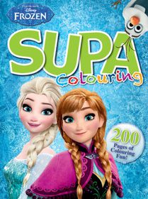 Disney Frozen 200 Page Supa Colour & Activity Book