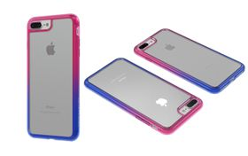 Body Glove Ghost Fusion Case for iPhone 7 Plus - Blue / Pink