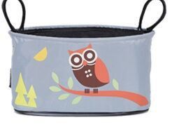 4-a-Kid - Pram Organizer - Orange Owl