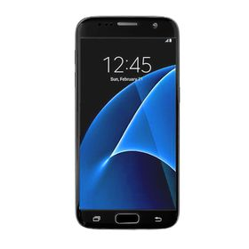 Tuff-luv Tempered Glass Screen Protection for Samsung S7 - Black